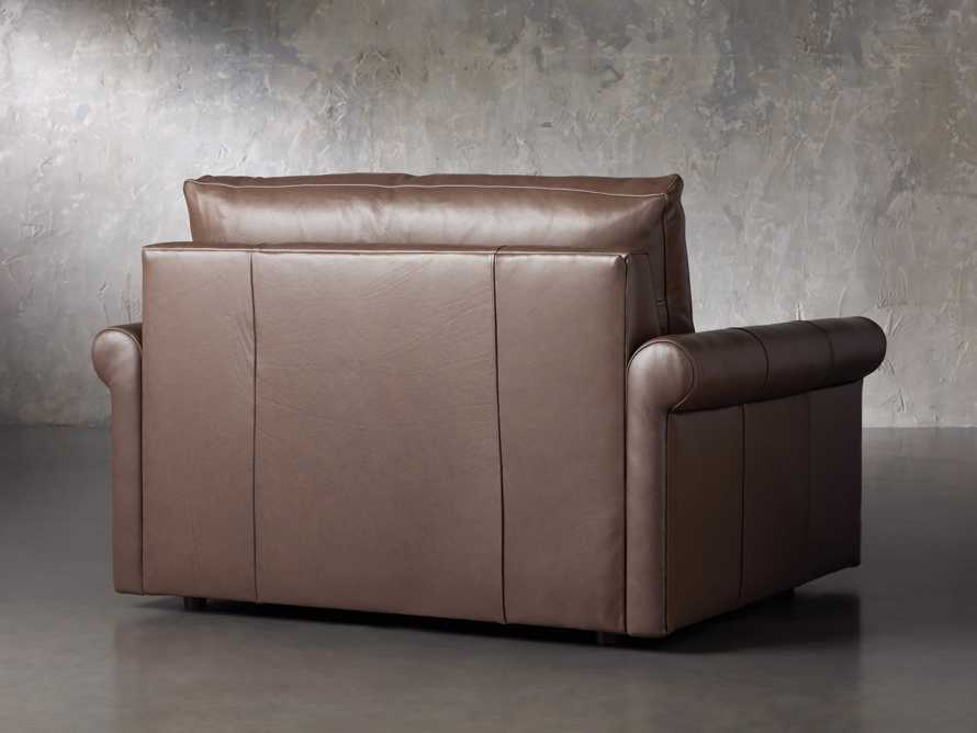 Kipton Leather Rolled Arm Chair, slide 4 of 7