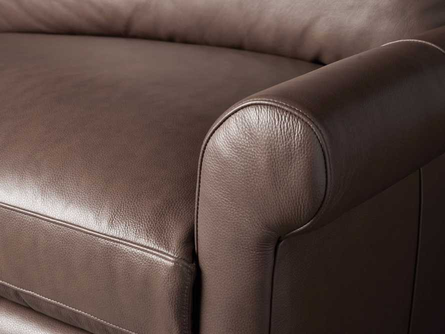 Kipton Leather Rolled Arm Chair, slide 5 of 7