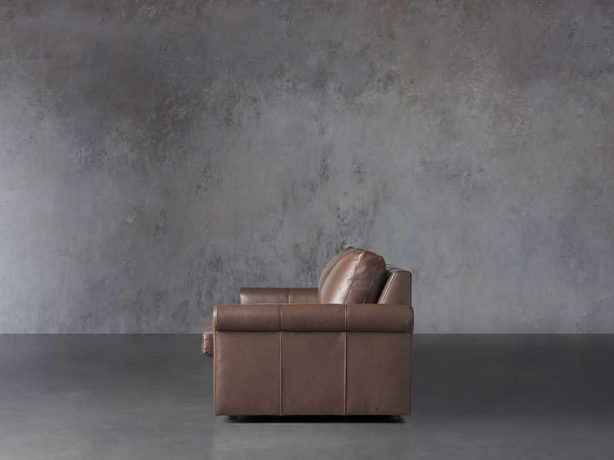 "Kipton Leather 97"" Rolled Arm Sofa, slide 4 of 8"