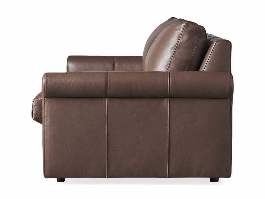 "Kipton Leather 97"" Rolled Arm Sofa, slide 8 of 8"