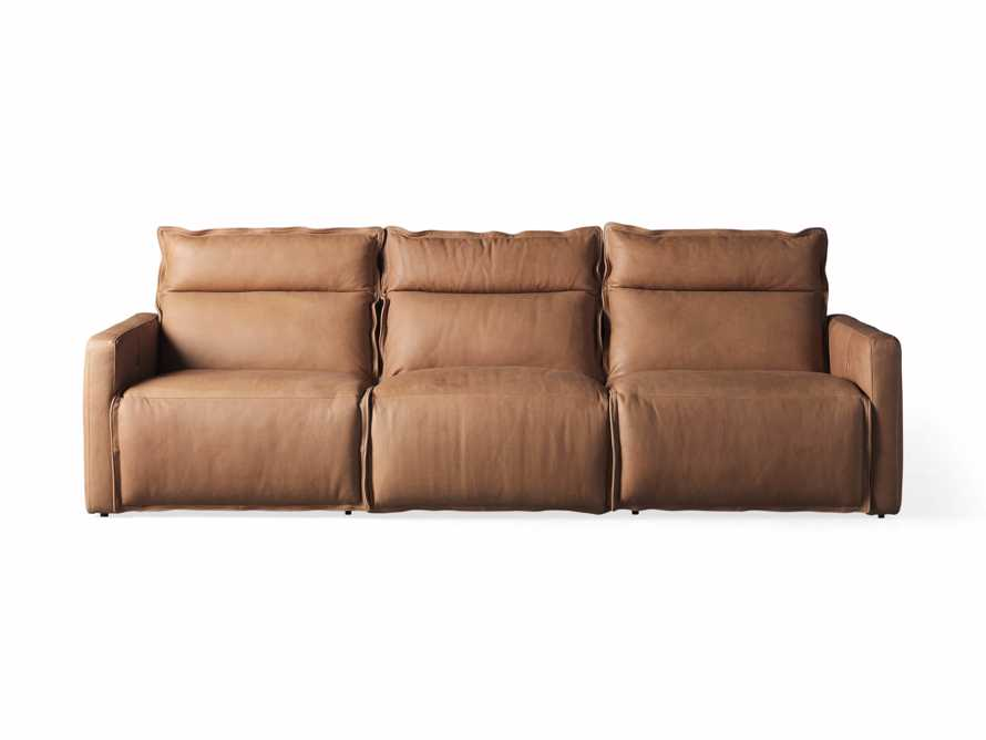 Rowland Leather Three Piece Sectional in Burnham Camel, slide 7 of 7