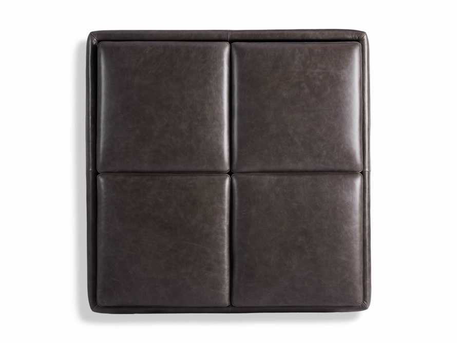 "Upton Leather 37"" Storage Ottoman, slide 6 of 9"