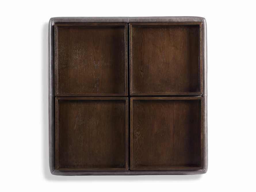 "Upton Leather 37"" Storage Ottoman, slide 7 of 9"