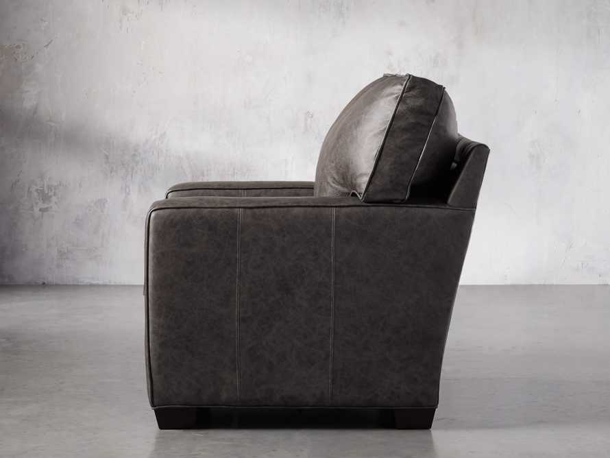 "Brentwood Square Leather 38"" Comfort Motion Recliner, slide 3 of 13"