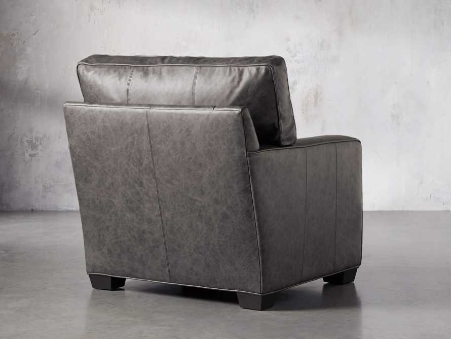 "Brentwood Square Leather 38"" Comfort Motion Recliner, slide 5 of 13"