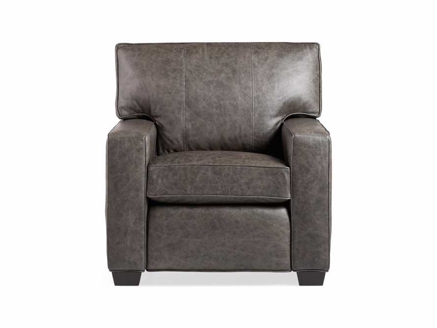 "Brentwood Square Leather 38"" Comfort Motion Recliner, slide 9 of 13"