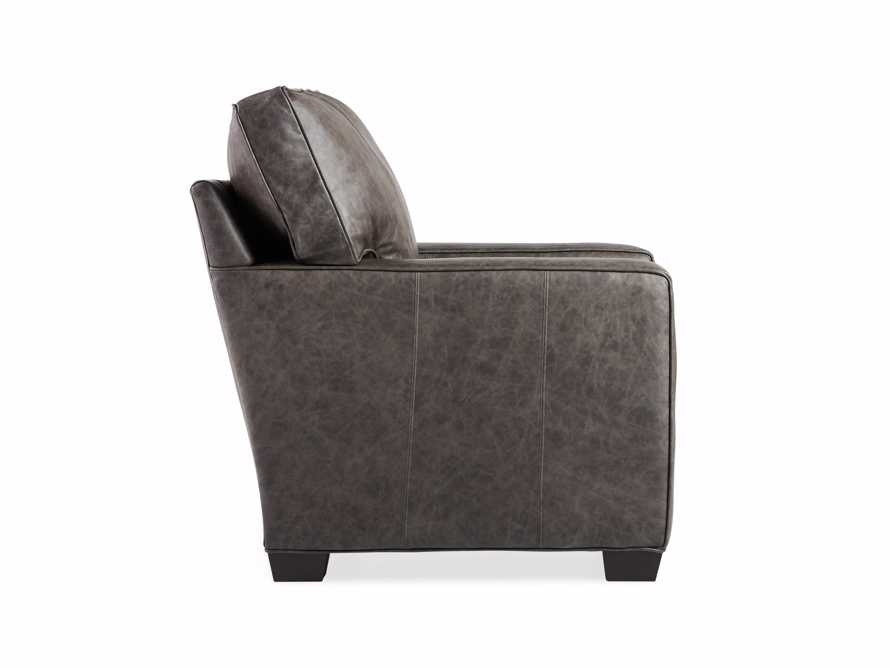 "Brentwood Square Leather 38"" Comfort Motion Recliner, slide 11 of 13"