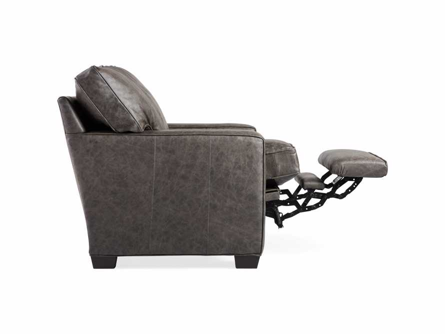 "Brentwood Square Leather 38"" Comfort Motion Recliner, slide 12 of 13"