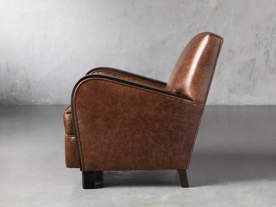 "Delaney Leather 29"" Chair, slide 3 of 8"