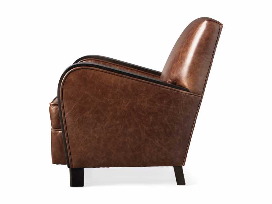 "Delaney Leather 29"" Chair, slide 8 of 8"
