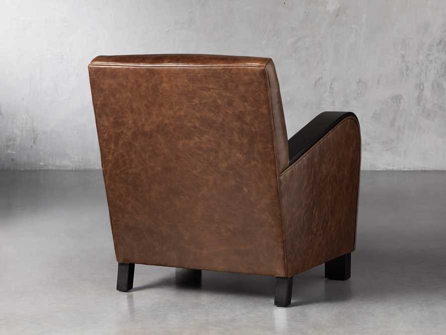 "Delaney Leather 29"" Chair, slide 4 of 8"