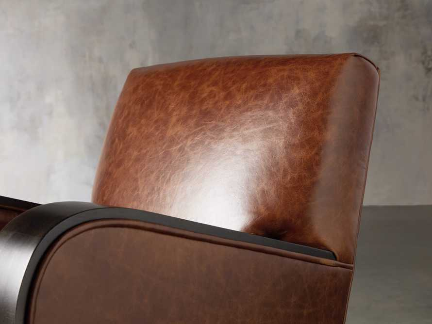 "Delaney Leather 29"" Chair, slide 5 of 8"