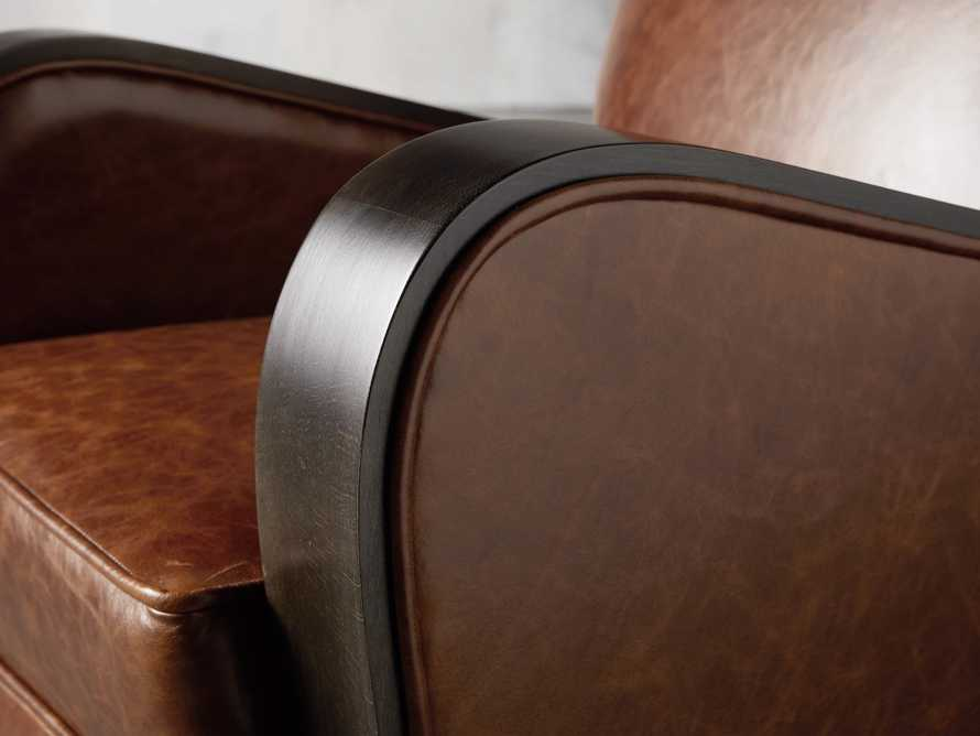 "Delaney Leather 29"" Chair, slide 6 of 8"