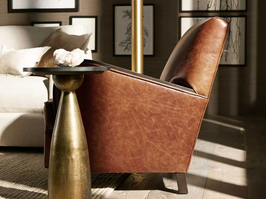 """Delaney Leather 29"""" Chair, slide 8 of 10"""