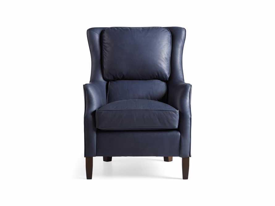 "Alex Leather 29"" Chair"