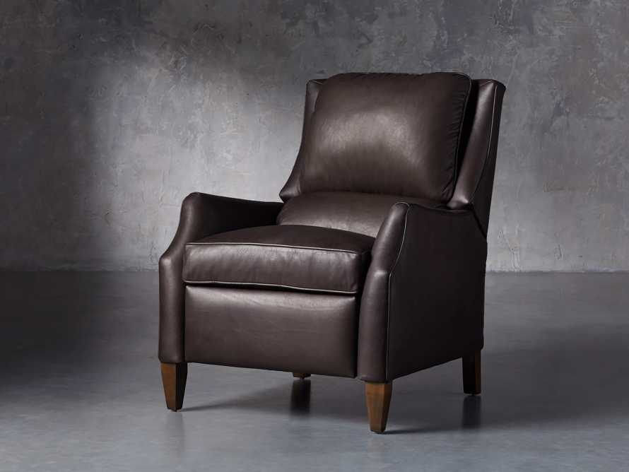 "Alex Leather 30"" Recliner, slide 2 of 11"
