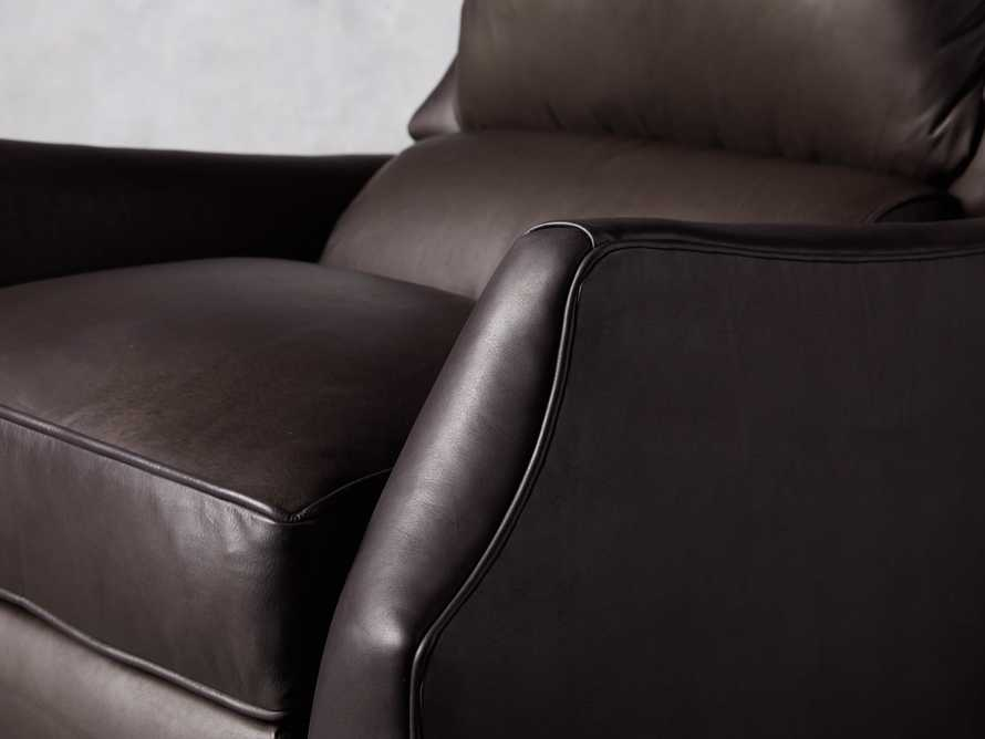 "Alex Leather 30"" Recliner, slide 7 of 11"