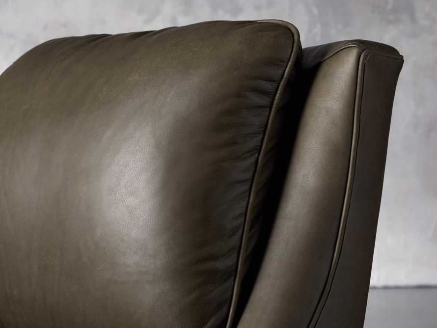 "Alex Leather 30"" Recliner"