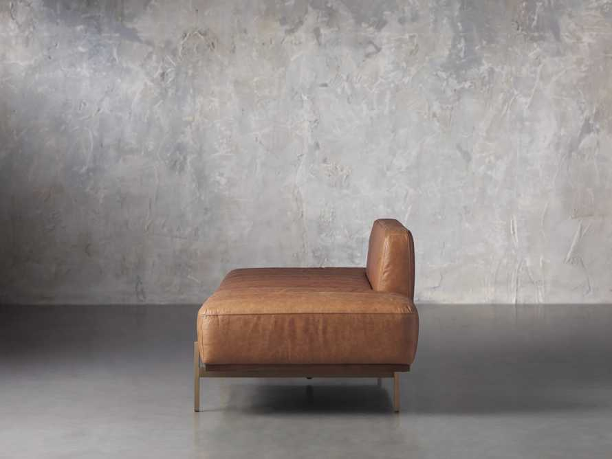 """Lansing Leather 77"""" Daybd in Metro Brown, slide 4 of 8"""