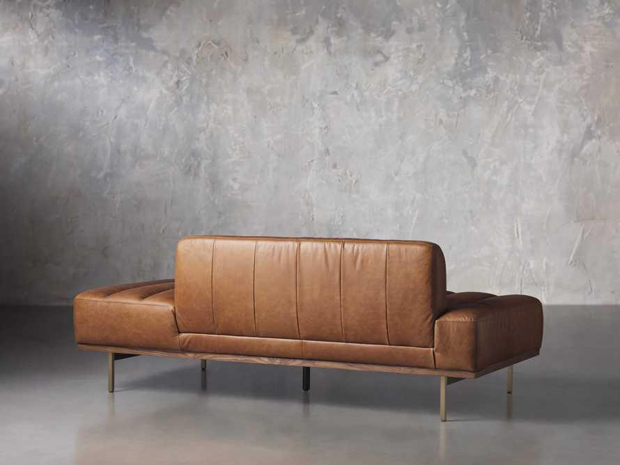 """Lansing Leather 77"""" Daybd in Metro Brown, slide 5 of 8"""