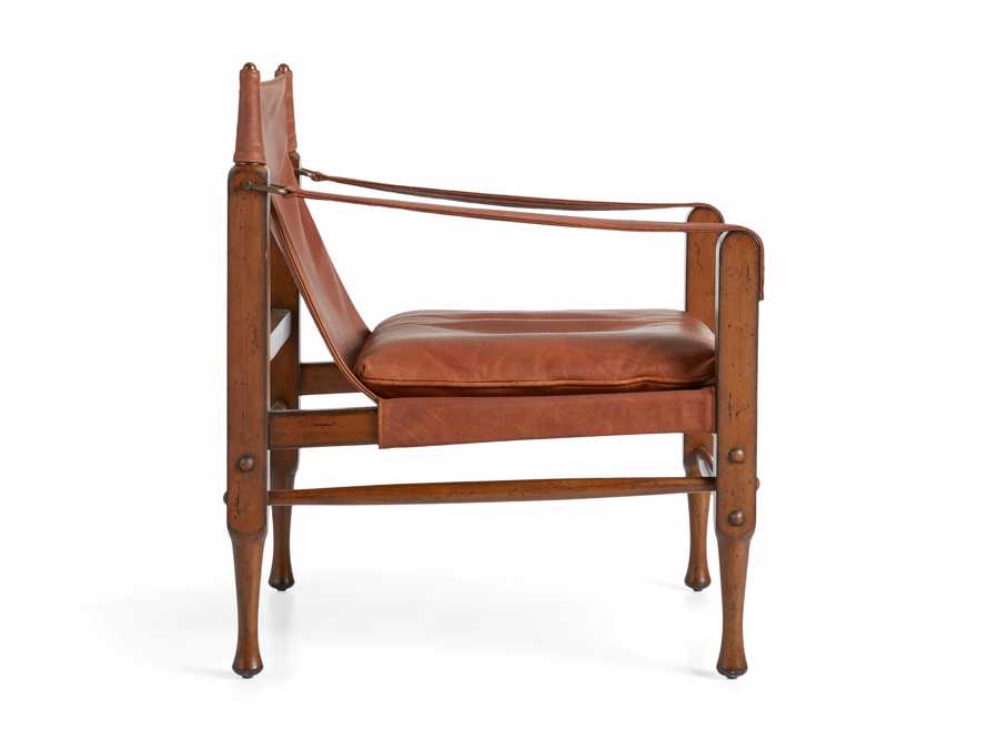 "Safari Leather 26"" Chair, slide 10 of 10"