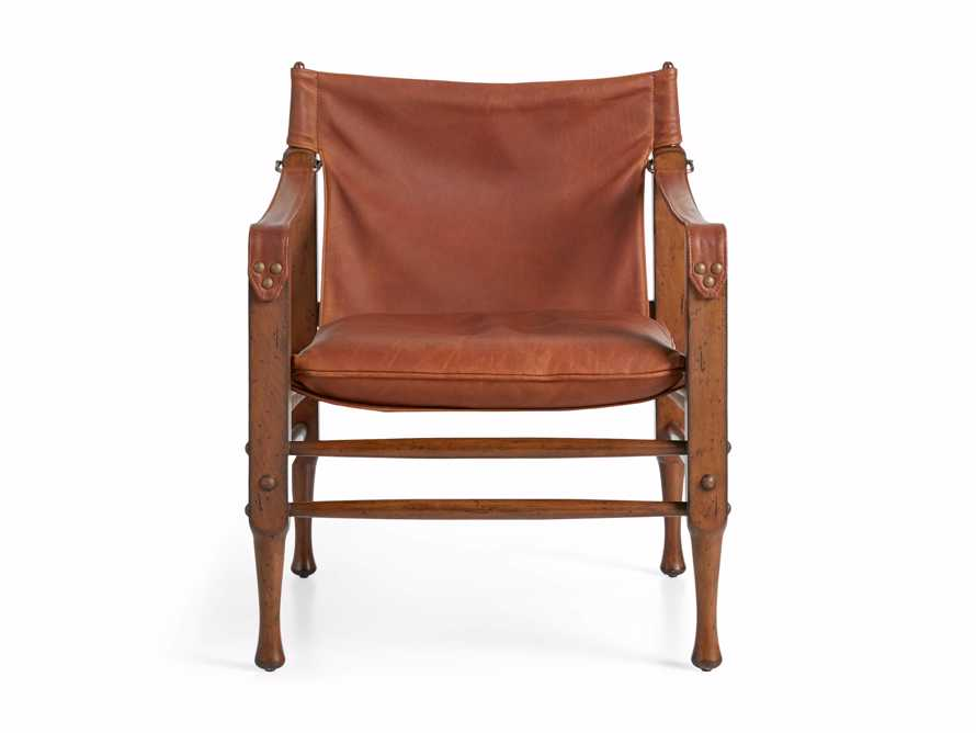 "Safari Leather 26"" Chair, slide 9 of 10"
