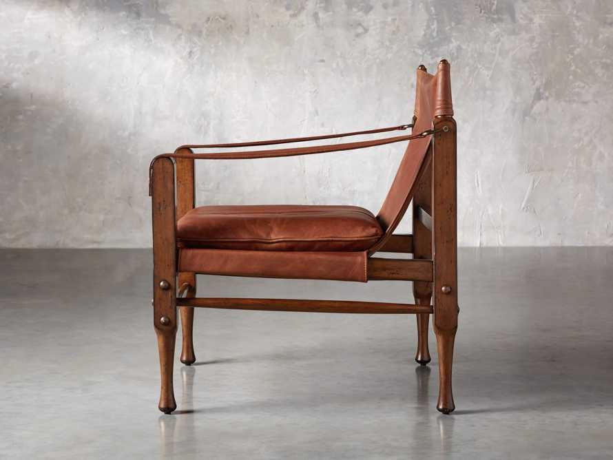"Safari Leather 26"" Chair, slide 4 of 10"