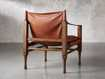 "Safari Leather 26"" Chair"