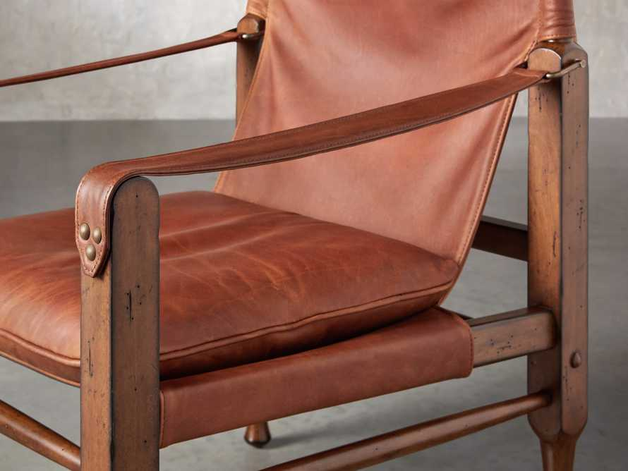 "Safari Leather 26"" Chair, slide 6 of 10"