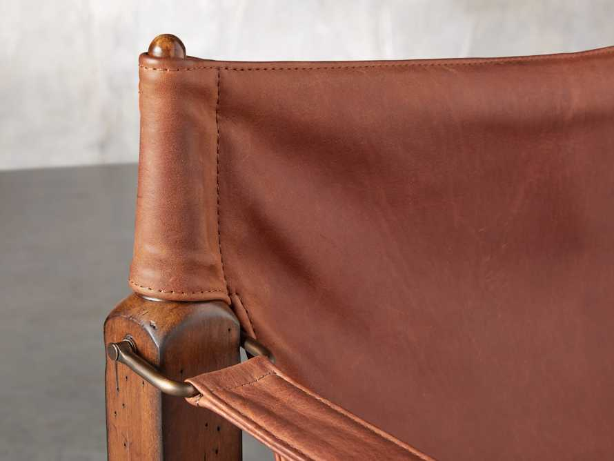 "Safari Leather 26"" Chair, slide 7 of 10"