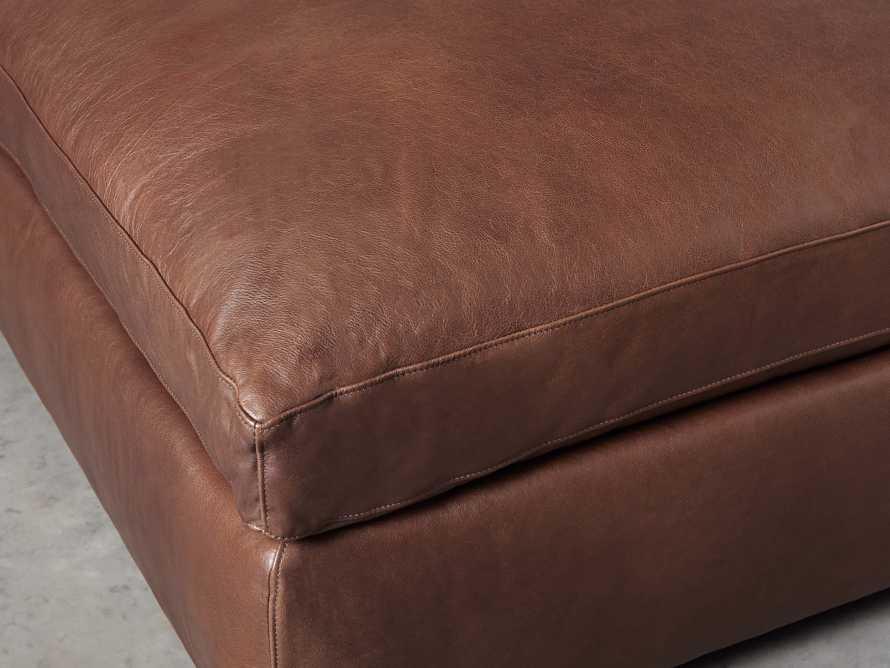 "Kipton Leather 44"" Ottoman, slide 3 of 6"