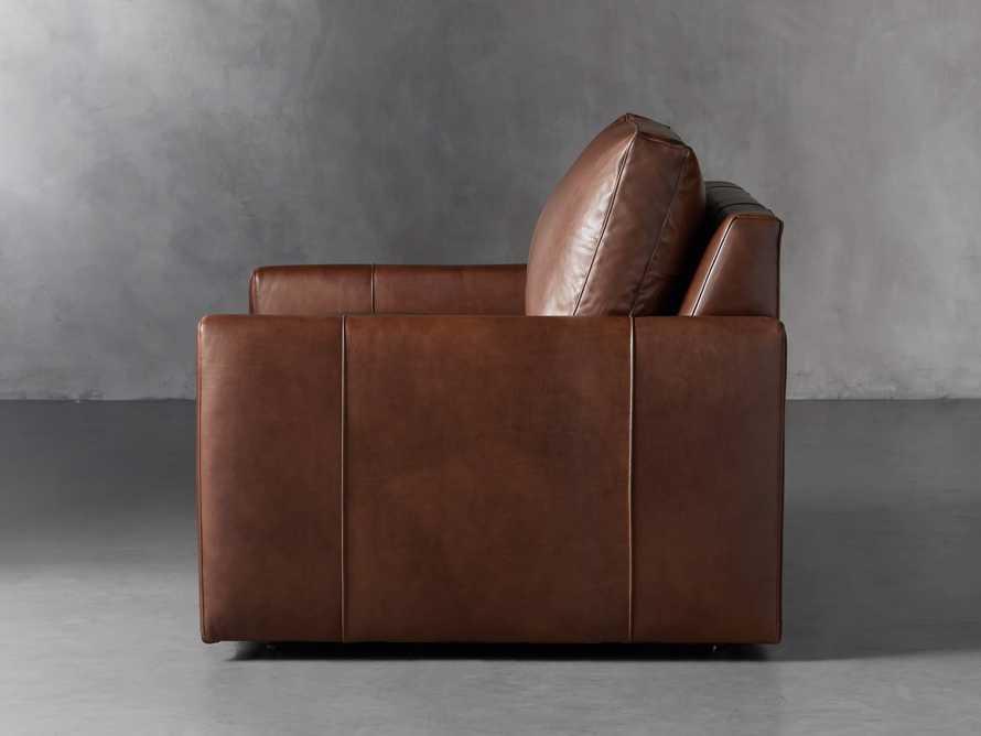 "Kipton Leather 51"" Chair, slide 3 of 8"
