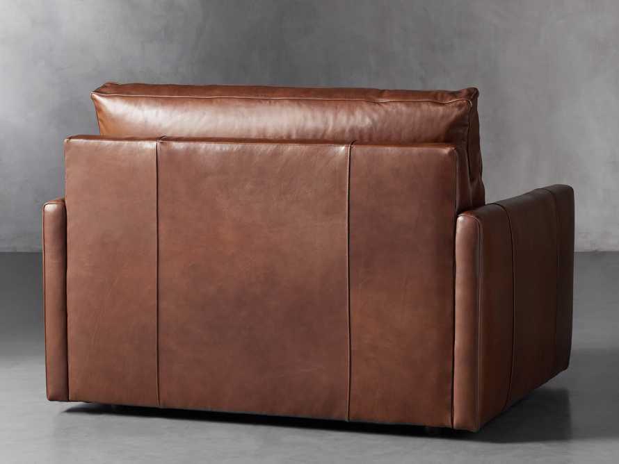 "Kipton Leather 51"" Chair, slide 4 of 8"