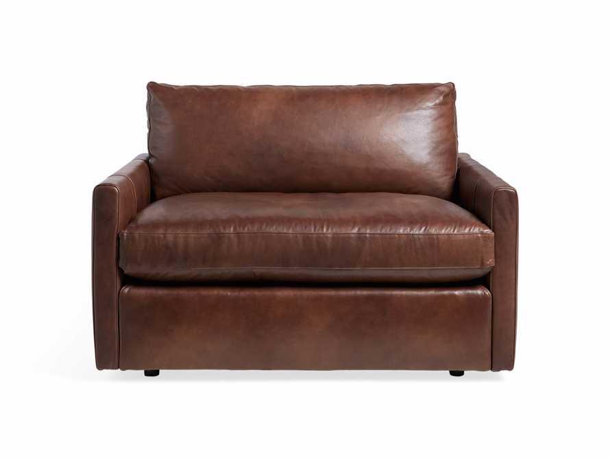 "Kipton Leather 51"" Chair, slide 6 of 8"