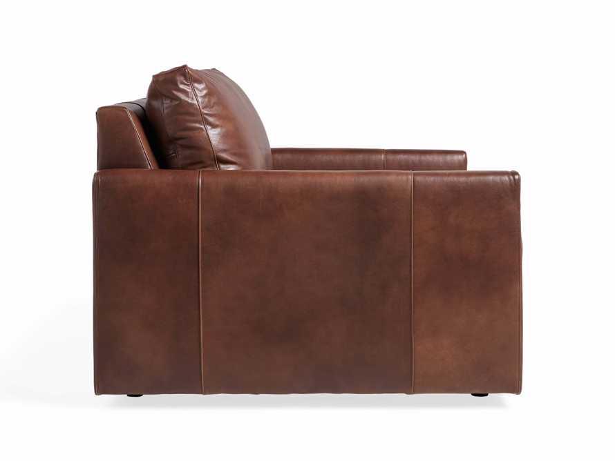 "Kipton Leather 51"" Chair, slide 7 of 8"