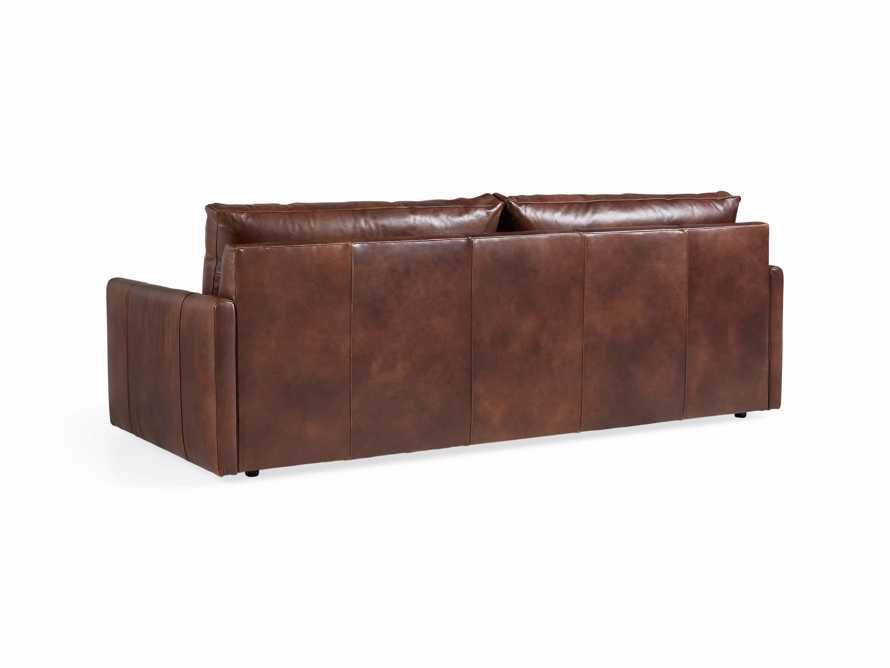 "Kipton Leather 94"" Sofa, slide 6 of 10"