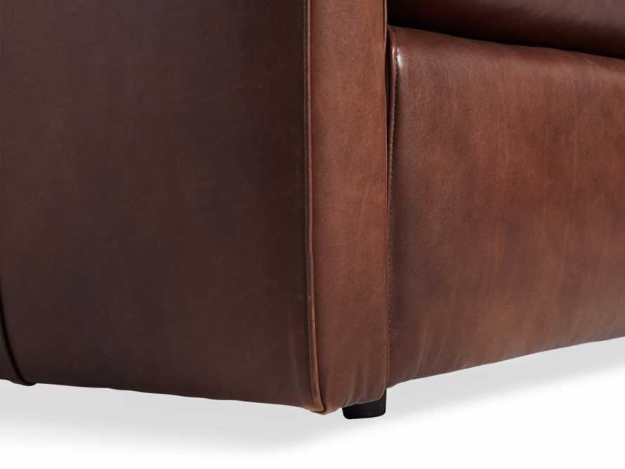 "Kipton Leather 94"" Sofa, slide 7 of 10"