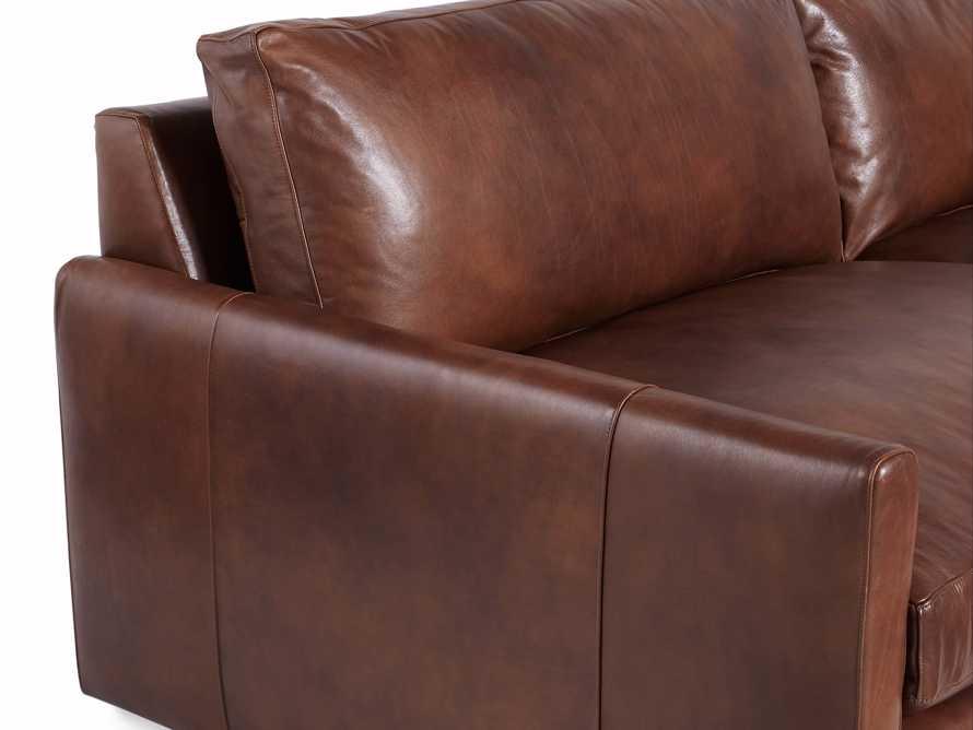 "Kipton Leather 94"" Sofa, slide 8 of 10"