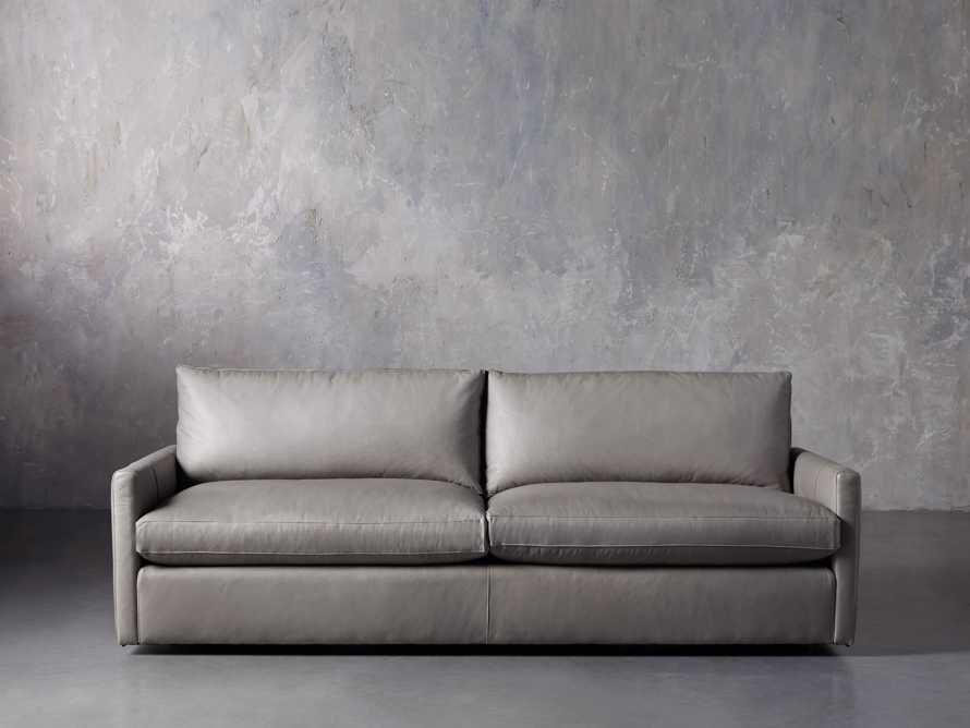 """Kipton Leather 94"""" Sofa"""