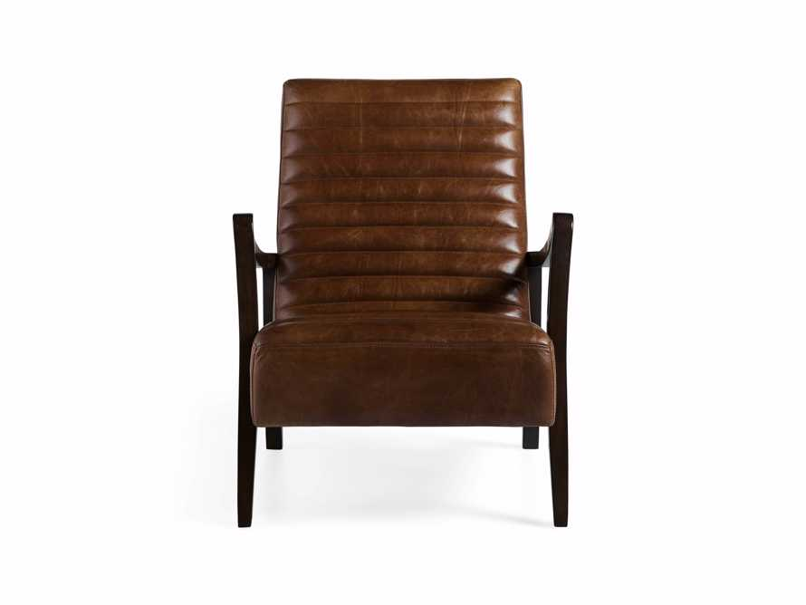 "Pryor Leather 27"" Chair in Momento Token, slide 9 of 10"