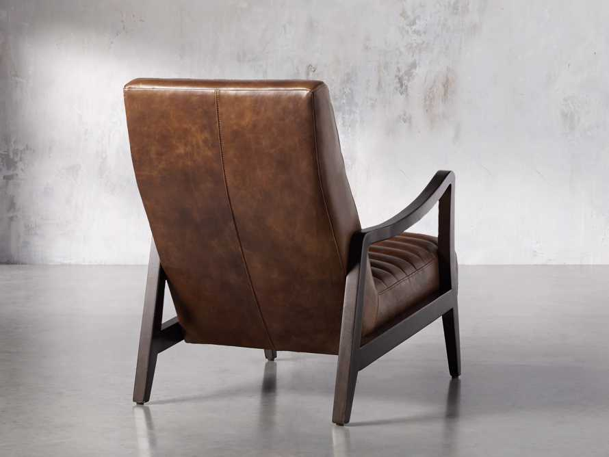 "Pryor Leather 27"" Chair in Momento Token, slide 4 of 10"