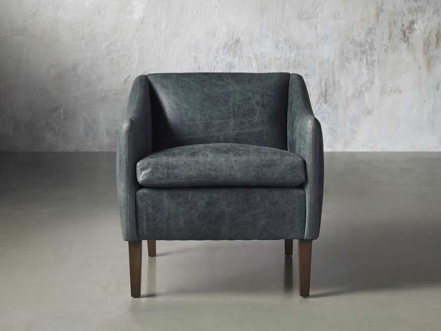 """Brody Leather 30"""" Chair, slide 2 of 8"""