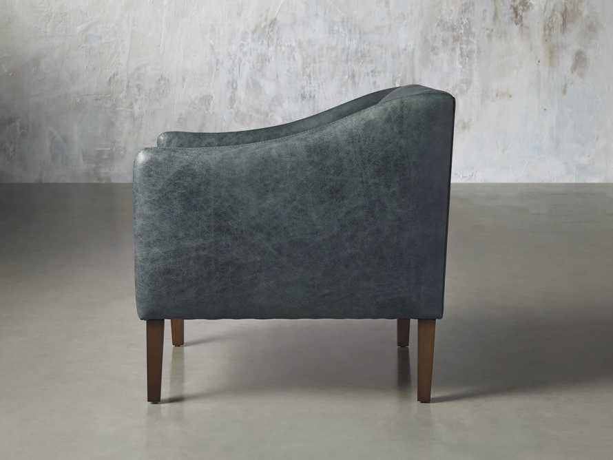 """Brody Leather 30"""" Chair, slide 4 of 8"""