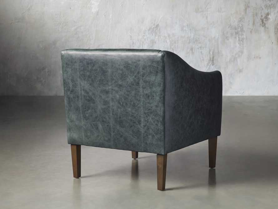 """Brody Leather 30"""" Chair, slide 5 of 8"""