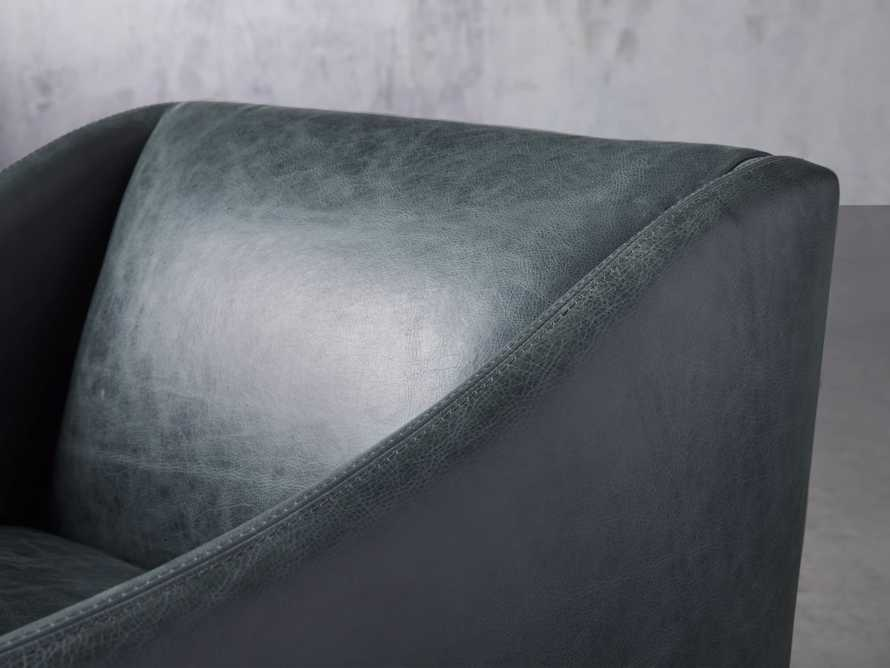 """Brody Leather 30"""" Chair, slide 6 of 8"""