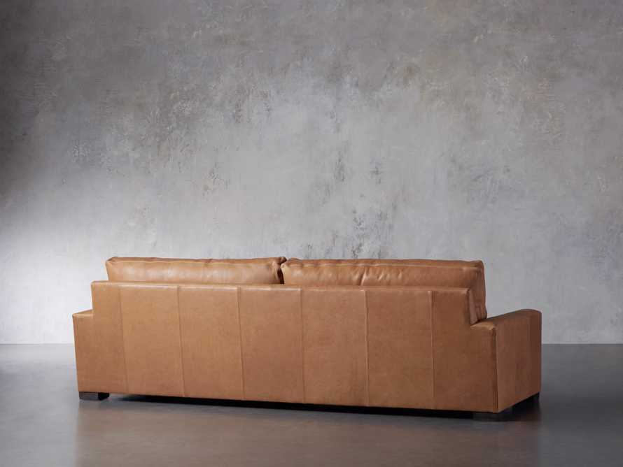 """Remington Deep Leather 108"""" Sofa (2/2) (With Springs), slide 5 of 8"""