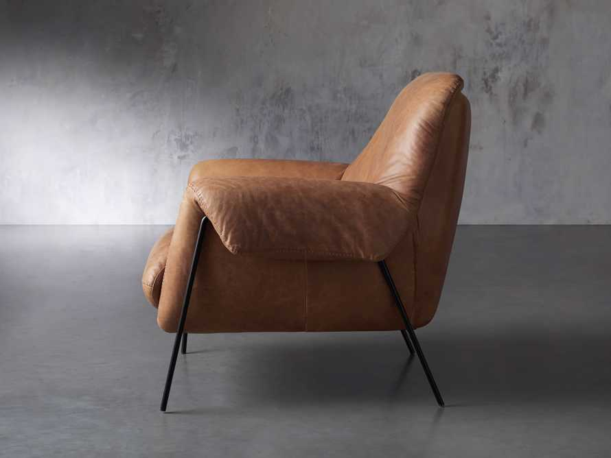 """Engles Leather 35"""" Chair in Saddlebag Coin, slide 4 of 13"""