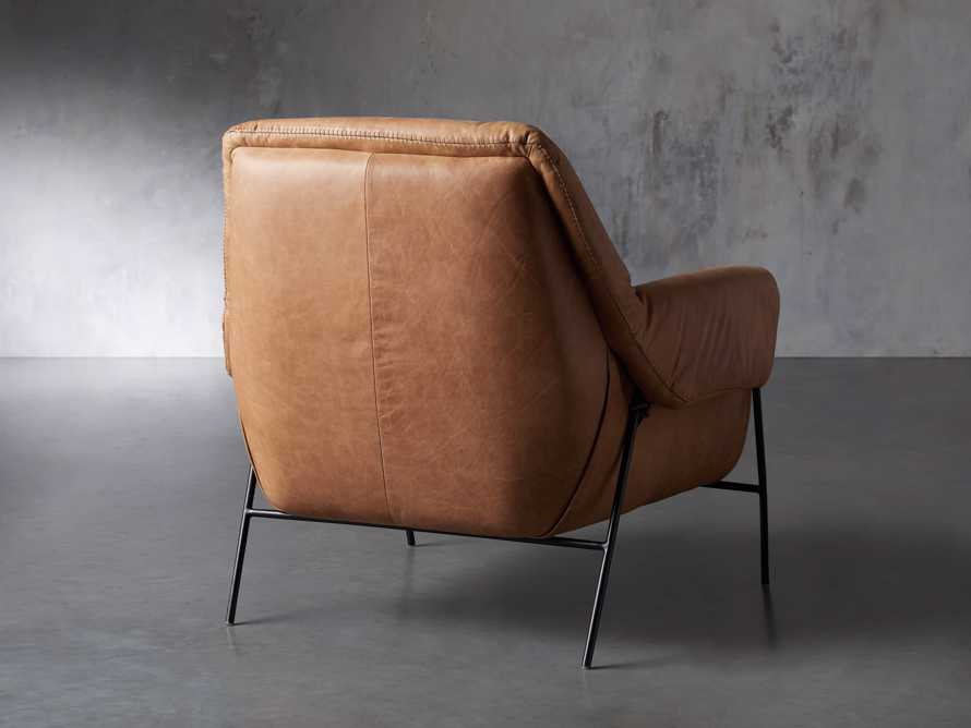 """Engles Leather 35"""" Chair in Saddlebag Coin, slide 5 of 14"""