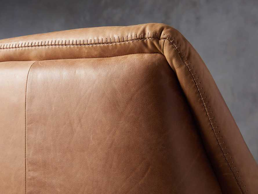 """Engles Leather 35"""" Chair in Saddlebag Coin, slide 8 of 13"""