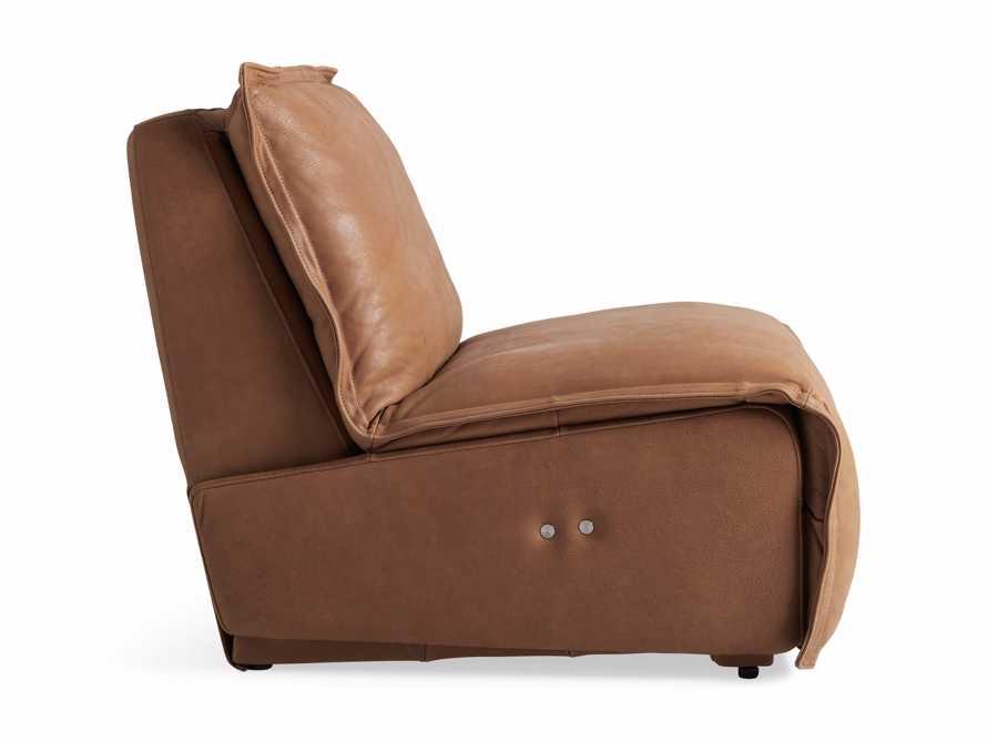 "Rowland Leather 34"" Motion Recliner in Burnham Camel, slide 11 of 12"
